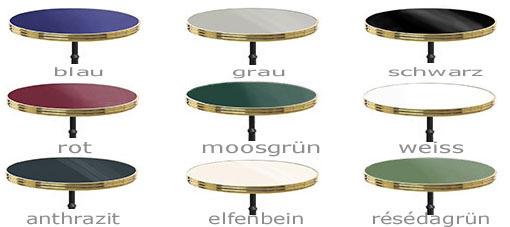 Bistrotische caf tische marmor tische gastrom bel for Marmor bistrotisch
